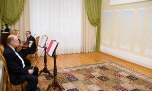 Черемушкинский ЗАГС - зал торжественной регистрации, оркестр