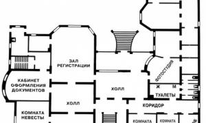 Грибоедовский ЗАГС план