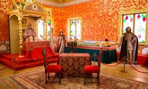 Дворец бракосочетания в Коломенском - покои царя