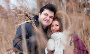 Love story - Алёша и Иришка, зима 2013