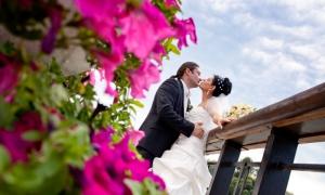 Царицыно, свадебная прогулка