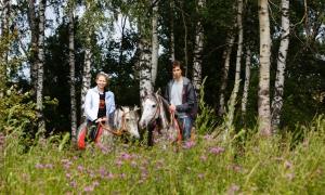 Фотосессии с лошадьми, Москва, love story