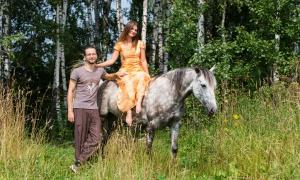 Фотосессии с лошадьми, love story, Москва