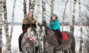 Детские фотосессии с лошадьми, Москва