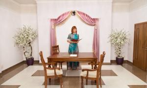 Гагаринский ЗАГС - зал торжественной регистрации