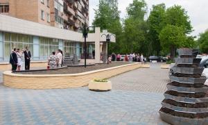 Измайловский ЗАГС - площадь перед ЗАГСом