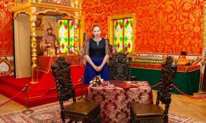 Дворец бракосочетания в Коломенском - зал торжественной регистрации брака