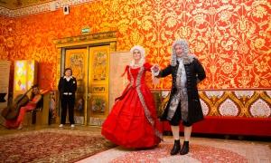 Выездная регистрация брака в Коломенском, покои царя, актеры