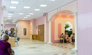 Нагатинский ЗАГС - холл